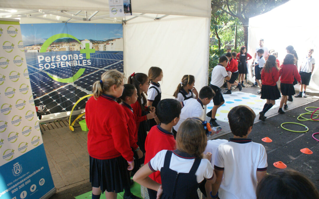 Talleres de «Tenerife + Sostenible»-Actividad Medioambiental